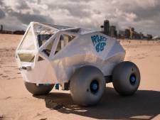 Beachbot, le robot qui ramasse les mégots de cigarettes sur la plage