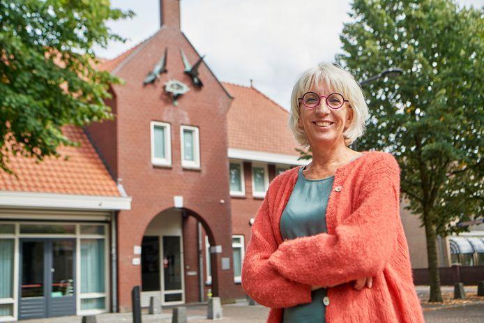 Angelika van der Horst voor dorpshuis 'De Horst' in Venhorst.