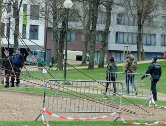 Politie ontruimt Maximiliaanpark om samenscholing te vermijden
