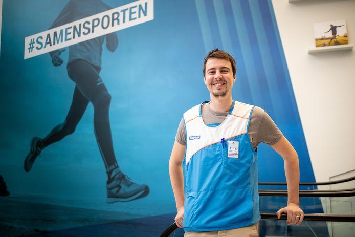 Winkelmanager Nils Vermeiren.