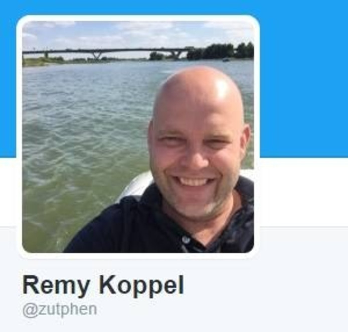 Zo ziet de profielfoto van @zutphen er nu nog uit.