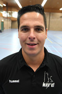 Coach Rob van den Akker.