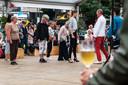 Bollekesfeest op de Groenplaats in Antwerpen.