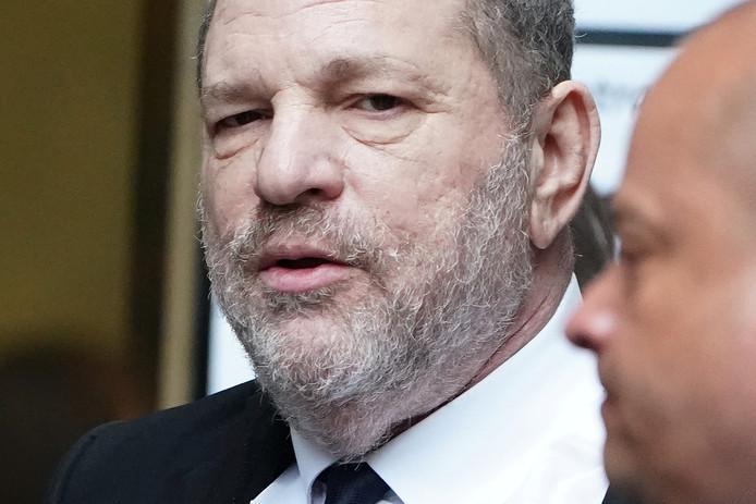 Filmproducent Harvey Weinstein was een van de eerste topmannen die moest vertrekken na talloze beschuldigingen van verkrachting en seksuele intimidatie.