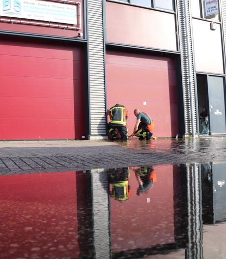 Wateroverlast bij bedrijfspand Reeuwijk