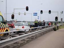 Vijf auto's botsen elkaar in Nijkerk, geen ernstig letsel