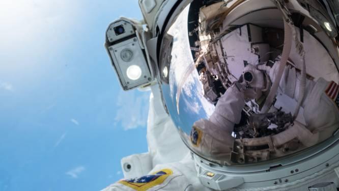 Astronauten van ISS spotten de Kerstman vanuit de ruimte