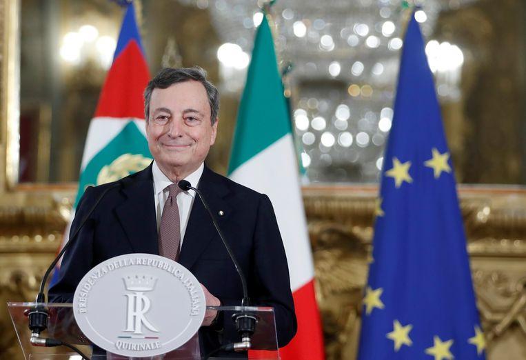 Mario Draghi. Beeld REUTERS