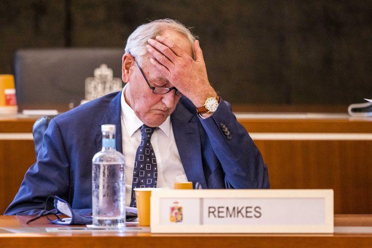 Johan Remkes, waarnemend gouverneur van Limburg. Beeld ANP