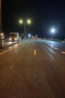 Werkzaamheden aan Veluwemeerbrug binnen een weekend afgerond, nachtelijke afsluiting vervalt