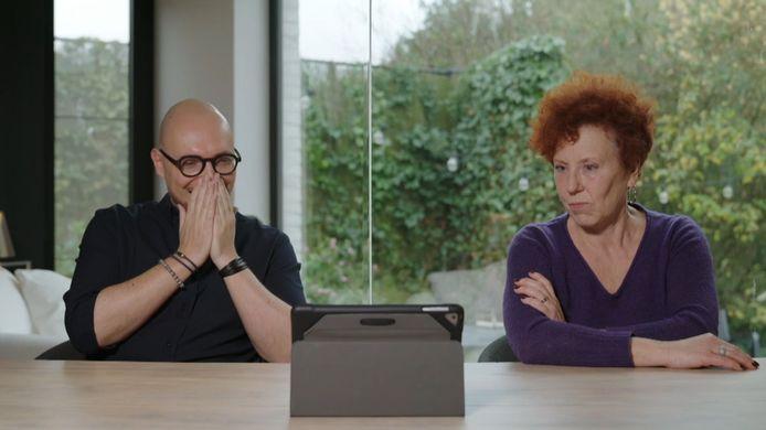 Bart en Béa in 'Blind Gekocht'