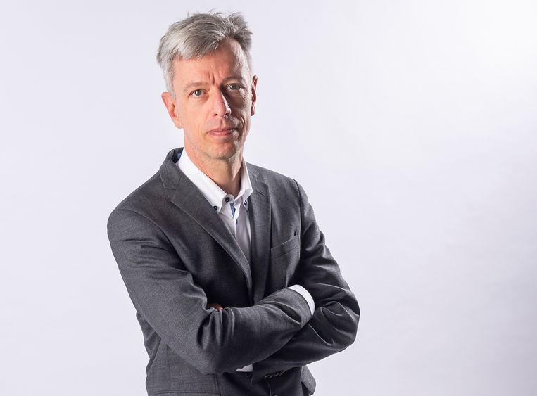 Geert Noels: 'Een algemene belastingverhoging komt er niet meteen, maar betalen zul je sowieso, via allerlei toeslagen.' Beeld Gregory Van Gansen / Photo News