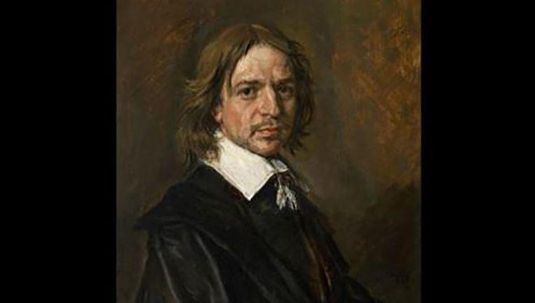 Dit schilderij werd in 2011 als een portret van Frans Hals bij Sotheby's geveild. Beeld Screenshot BBC / Sotheby's
