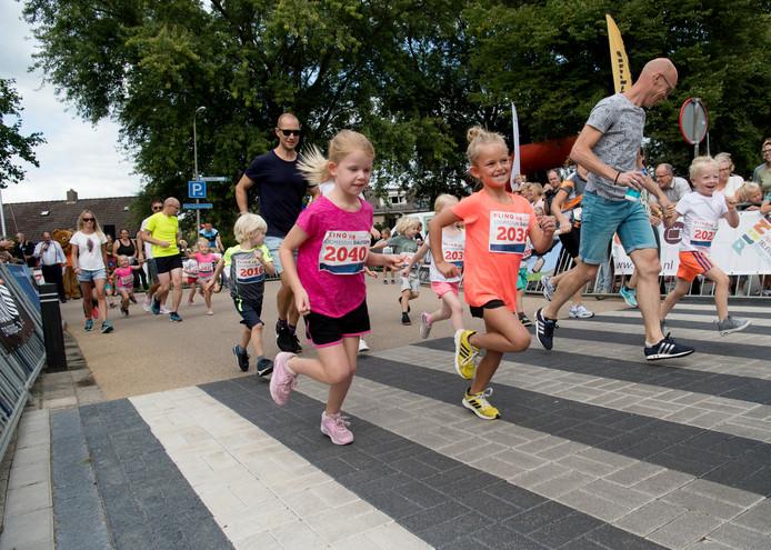 Onderdeel van het Loopfestijn in Dalfsen is de Kidsrun.
