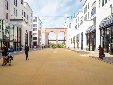 Amersfoort kan zeker 9100 woningen aan en bóven het spoor bouwen