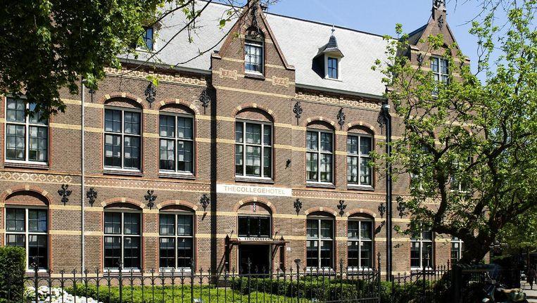 Het The College Hotel aan het Roelof Hartplein werd in 2005 opgezet als opleidingshotel voor het ROC van Amsterdam Beeld Parool