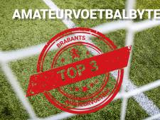 Knotsgekke slotfase en veel, héél veel regen op de Brabantse amateurvelden