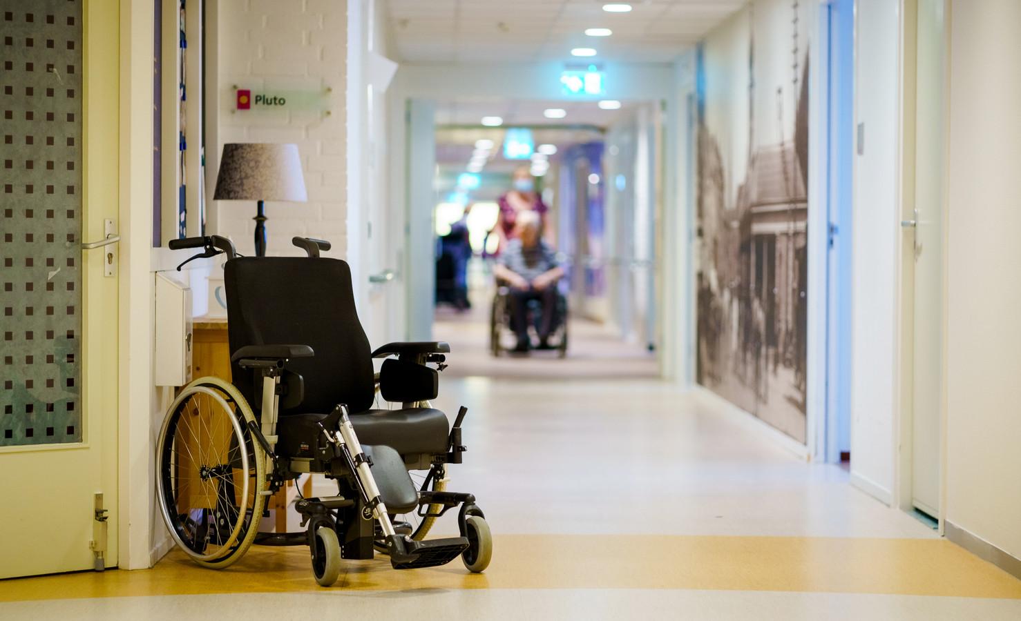 Opname in een verpleeghuis is vaak een emotionele gebeurtenis.