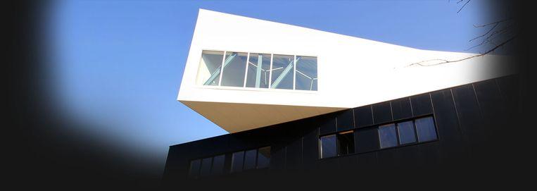 'The Level', het Kortrijkse gebouw dat de opleiding 'Digital Arts and Entertainment' huisvest. Beeld Howest