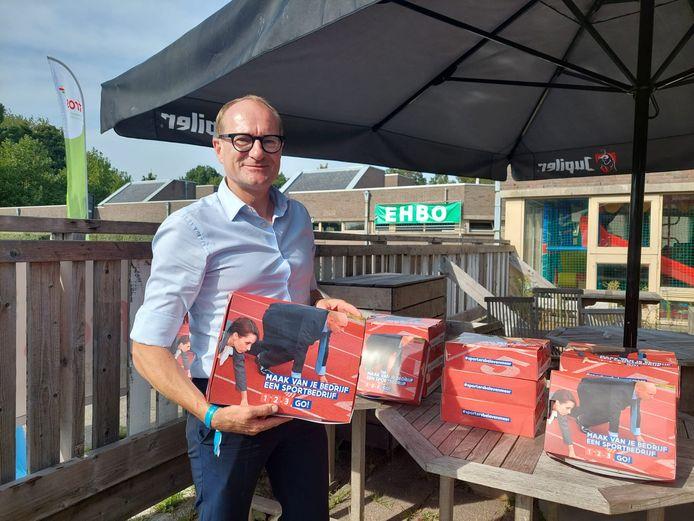 GENT - Ben Weyts (N-VA) stelt 'Sportbedrijf' voor aan de Blaarmeersen.