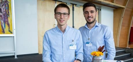 Cyril et Maxime lancent la première cuillère comestible 100% liégeoise