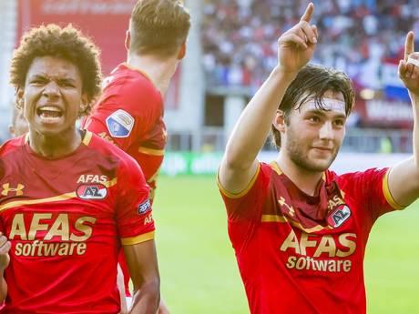 LIVE: FC Utrecht heeft geen vat op uitblinker Calvin Stengs (18)