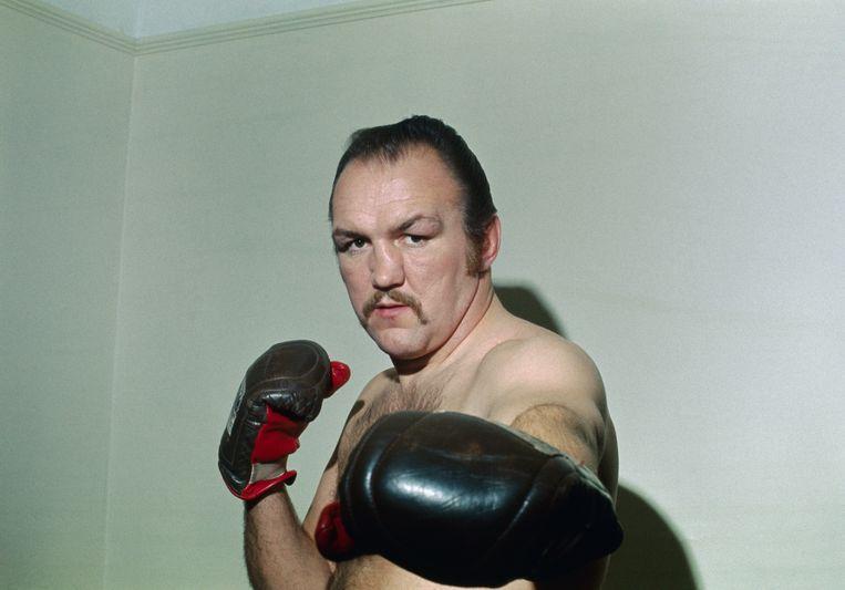 Chuck Wepner. Op hem werd het personage van Rocky Balboa gebaseerd. Beeld Bettmann Archive