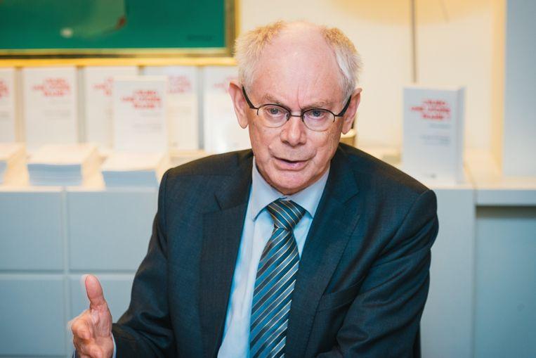 Herman Van Rompuy Beeld Belga
