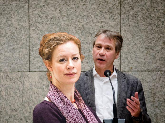 Rik Grashoff en Marjolein Meijer.