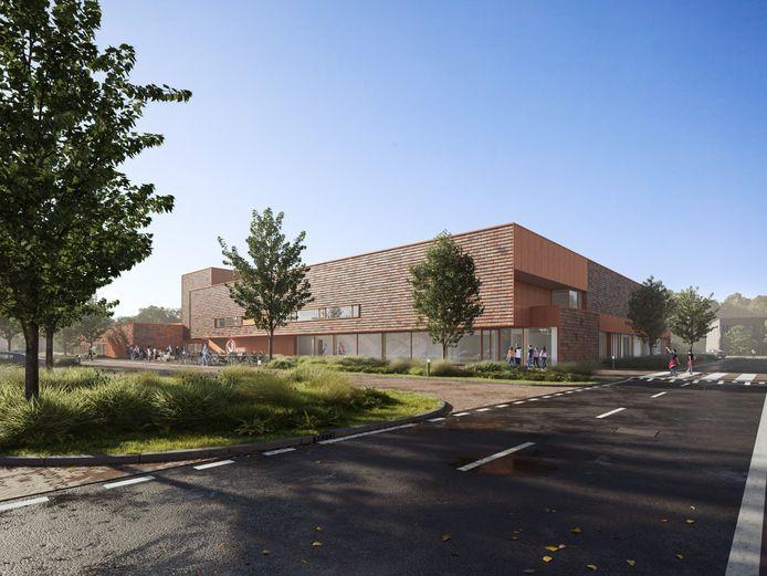 Zo komt het nieuwe binnensportcomplex van Zaltbommel eruit te zien. Zowel het zwembad als de sporthal zijn geschikt voor wedstrijden op topsportniveau.
