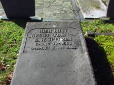 Gerhard Spitzen, schrijver van het Groninger volkslied, ligt in Ruurlo begraven