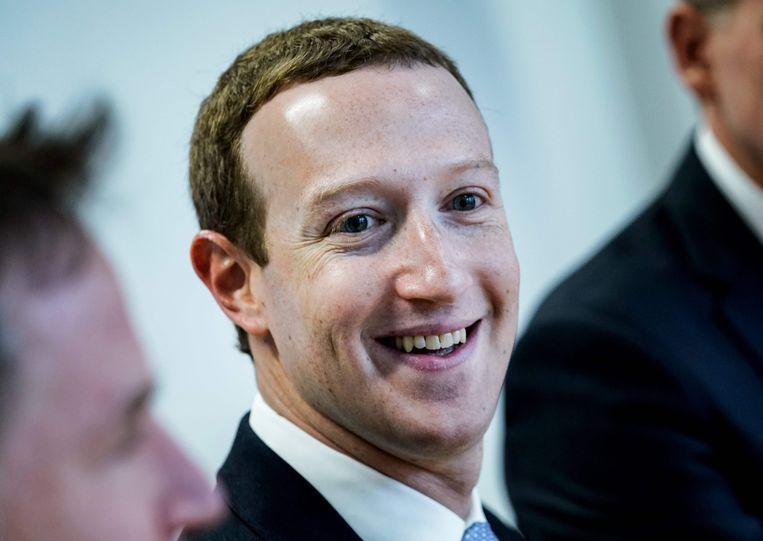 Mark Zuckerberg op archiefbeeld. Beeld AFP