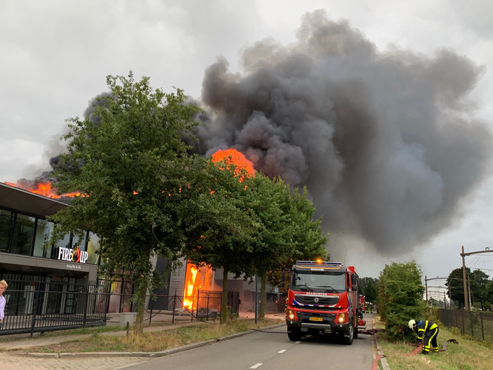 Brand Fire-up in Oisterwijk