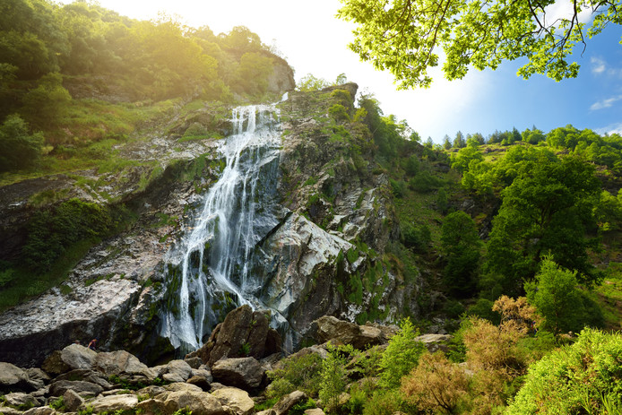 La cascade de Powerscourt.