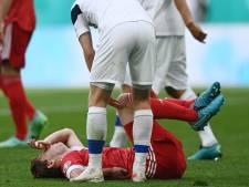 Frayeur, mais nouvelles rassurantes pour Fernandes, victime d'une grosse chute contre la Finlande