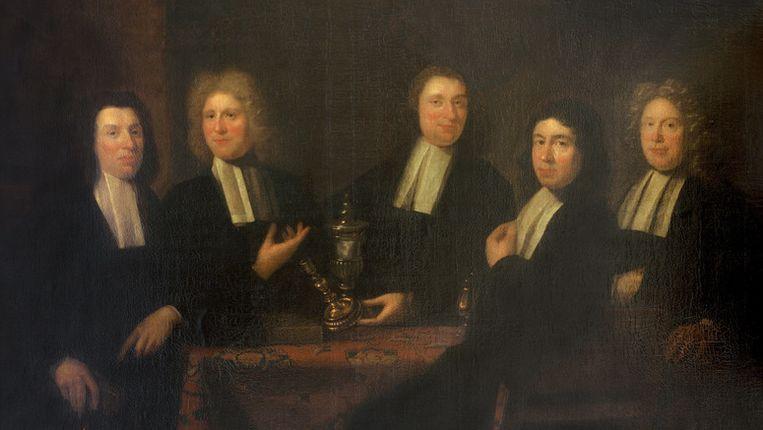 The Masters of the Goldsmith Guild van Juriaen Pool II (1655-1745). © AFP/University Concordia Beeld