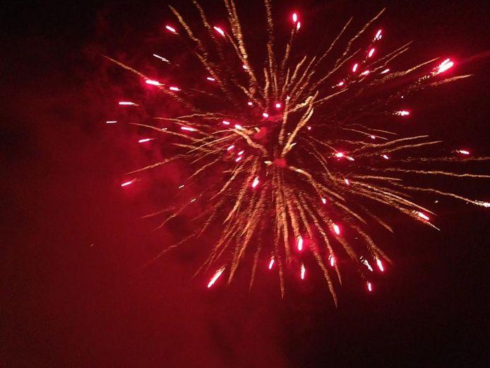 Vuurwerk boven Oog in Al