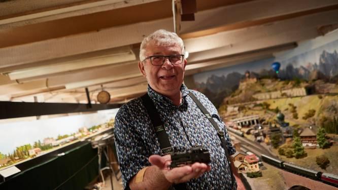 Modeltreintjesman Gerrit uit Ruurlo gaat na 40 jaar met bloedend hart in de remise: 'Het is toch m'n levenswerk hè...'