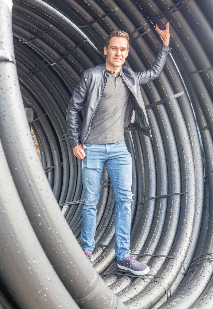 Marco Minnaard gaat zich na dit weekend onder meer bezighouden met de werkvoorbereiding bij de aanleg van kabels.