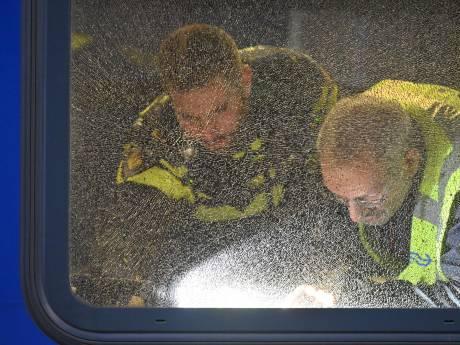 Treinen mogelijk beschoten tussen Tilburg en Breda, meerdere ramen kapot
