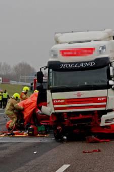 OM blijft erbij dat dodelijk ongeval ontstond door whatsappende trucker