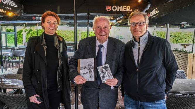 """Ereburgemeester Antoon Sansen (88) stelt boek voor… op gezellig terrasje: """"Kortrijk was mijn maîtresse"""""""