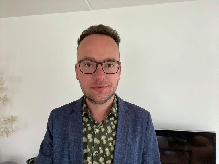 Geschiedenisleraar Gerrit Zandbergen. Beeld Privécollectie