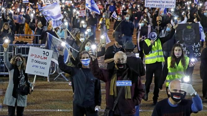 Protest tegen nieuwe Israëlische regering ondanks coronavirus