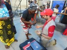 Jeroen (31) uit Eindhoven zorgt voor contact met rampgebied Mozambique