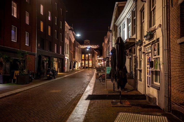 Karrenstraat in Den Bosch.  Beeld Raymond Rutting / De Volkskrant