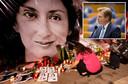De vermoorde journaliste Daphne Caruana Galizia (inzet Pieter Omtzigt)