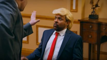 Shaggy hekelt Trump in geweldige cover van 'It Wasn't Me'