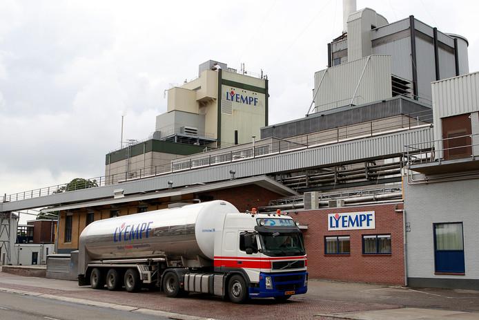 Archiefbeeld: Melkfabriek Lyempf in Kampen,