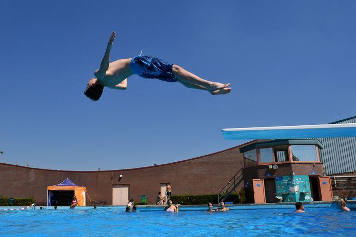Zwembad Het Sportpark in Almelo, afgelopen zomer.